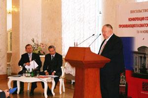Выступает И. К. Савицкий (Австралия)