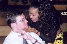 Олег Новиков на встрече РКШ (2001) ха-ха