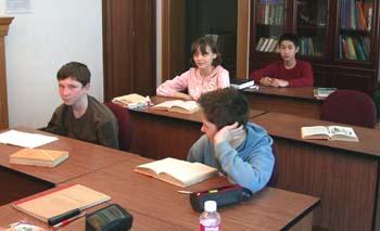 Ученики консульской школы в г.Шанхае
