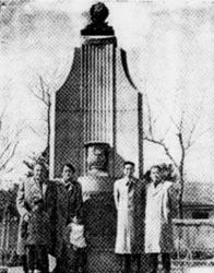 Памятник Пушкина в Шанхае