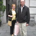 Л.А. Бабаскина и ее муж Го Нин