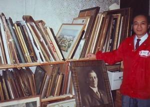 Профессор Ван Чжичэн в музее русской культуры
