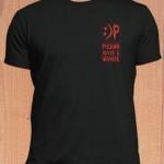 Чёрная футболка Русского клуба в Шанхае. Размеры: S, M, L, XL