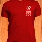 Красная футболка Русского клуба в Шанхае. Размеры: S, M, L, XL