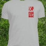 Белая футболка Русского клуба в Шанхае. Размеры: S, M, L, XL