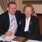 Михаил дроздов с Ольгой Иосифовной Ильиной-Наиль