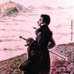 Гао Ман. Пушкин на Великой Китайской стене. Фрагмент