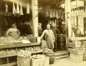 Владивосток. Рынок в китайском квартале.