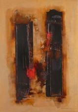 Персональная выставка Cheng Xiangjun. Абстракции.