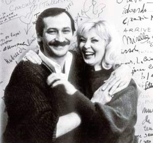 Леонид Филатов с женой Ниной Шацкой