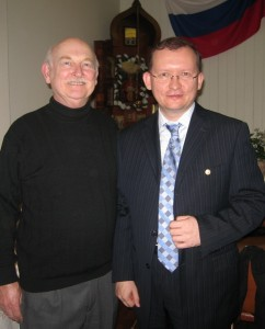 Александр Васильев и Председатель РКШ Михаил Дроздов