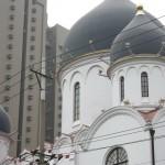 Русская живопись в православном храме в Шанхае
