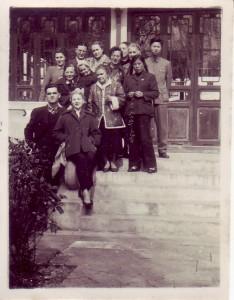 Вера Васильевна Замотаева и русские преподаватели Шанхайского института иностранных языков