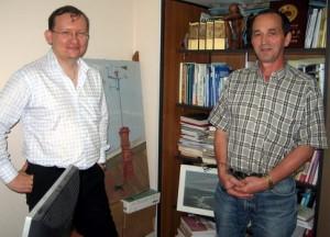 Председатель РКШ М. Дроздов и А. Хисамутдинов