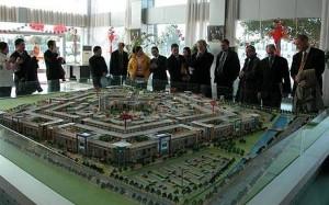 В Шанхае построят торговый центр в форме Пентагона