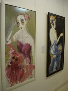 В Art in capitals Gallery - выставка испанской художницы Mar Arnau – «A woman's Thoughts» («О женском»)