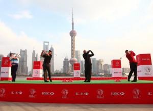 В Шанхае закончился международный турнир по гольфу HSBC Champions