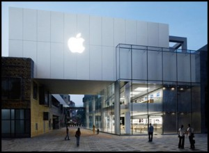 Apple откроет два фирменных магазина в Шанхае