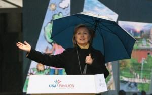 Хилари Клинтон попросила деньги на национальный павильон США для ЭКСПО-2010