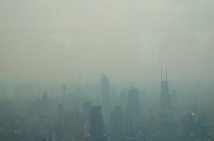 Загрязнённый Шанхай. Фото Ethnocentrics с сайта flickr.com