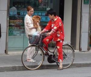 Правительство Шанхая попросило горожан не ходить в пижамах на улице