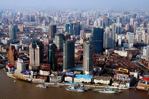 Вид на Шанхай