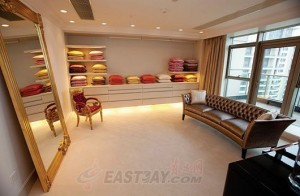 Фото: Квартира стоимостью $44 млн с дизайном от Versace продается в Шанхае