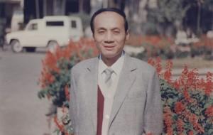 Ван Чжичэн в период работы над книгой