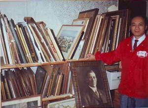 Ван Чжичэн в музее русской культуры в Сан-Франциско