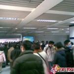Фото: Авария на первой линии метро в Шанхае (декабрь 2009)