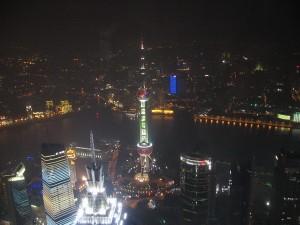 Шанхайские высотки: общий вид / Шанхайские высотки с Ольгой Пулиший