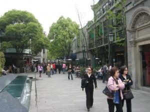 Улицы Xintiandi – Taikang – Duolun в Шанхае / Ольга Пулиший