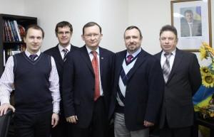 Встреча руководства РКШ  с генеральным  консулом Украины  в Шанхае С. А Бурдуляком