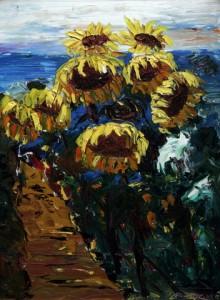 информации о выставке работ британского художника с русскими корнями Пола Лизака