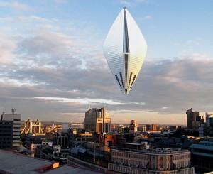 В Шанхай будет летать вертикальный отель-дирижабль из Лос-Анджелеса