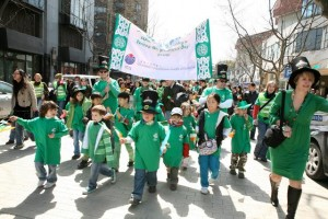 Шанхайские ирландцы отметили день Святого Патрика на 4 дня раньше