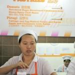 Русские пирожки в Шанхае