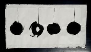 """совместная выставка четырех китайских художников """"Mind Space"""""""