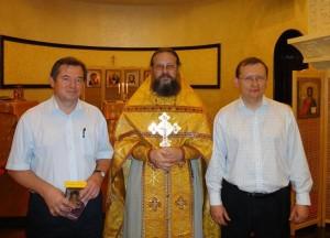 В Свято-Николаевском храме-памятнике
