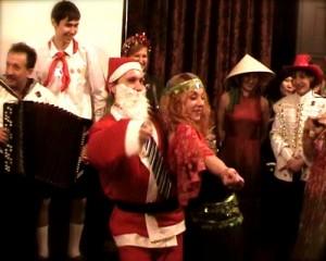 12-летие и новогодний маскарад Русского клуба в Шанхае