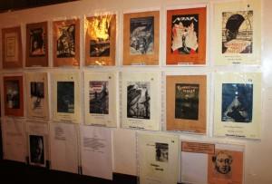 Обложки книг Павла Северного выходивших в Шанхае в 1930-40 гг.
