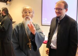 о.Михаил Ли и председатель РКШ Михаил Дроздов