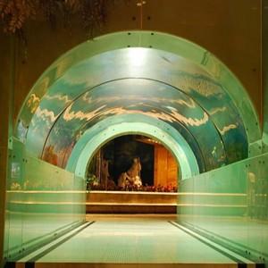 """Интерьер бани """"Восточный Рим"""" в Шанхае"""
